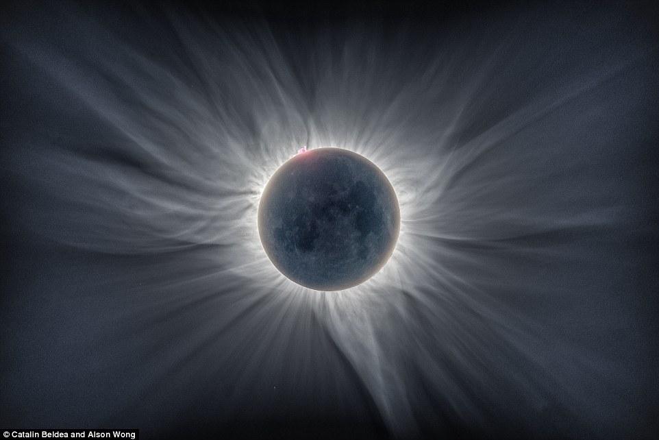 De las perlas de un eclipse solar al espacio profundo, como nunca lo ...